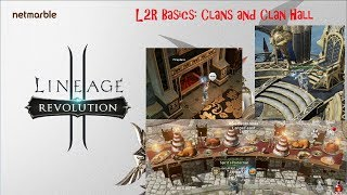 Lineage 2: Revolution Basics: Clans & Clan Hall