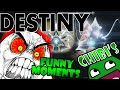Destiny Funny Moments Ep.15 WHAT'S GOING ON!?  VOG Revisit, Gorgon Rage.