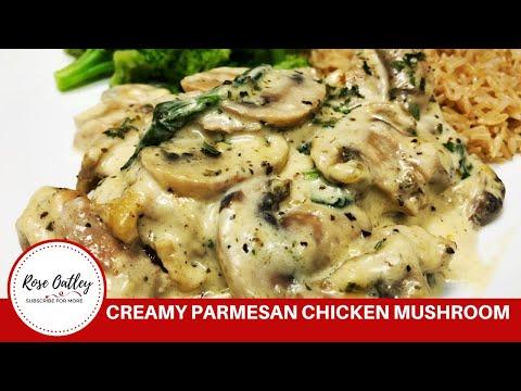 How To Make Creamy Parmesan Chicken Mushroom