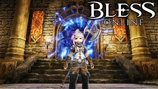 BLESS ONLINE - What to Expect From Dungeons (Bless Online Gameplay JP Server w English Translation)