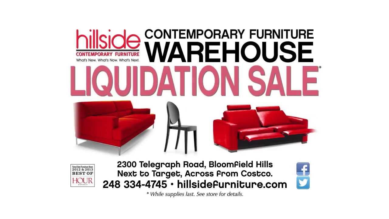 sofa liquidation sale carlyle new york city hillside furniture warehouse youtube