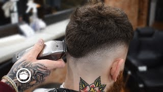 Textured Top Fade | Haircut to Cure the Hangover