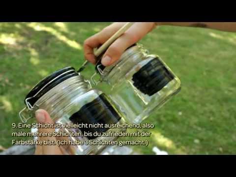 Susse Glaser Mit Tafelfarbe Kreieren Diy Home Guidecentral