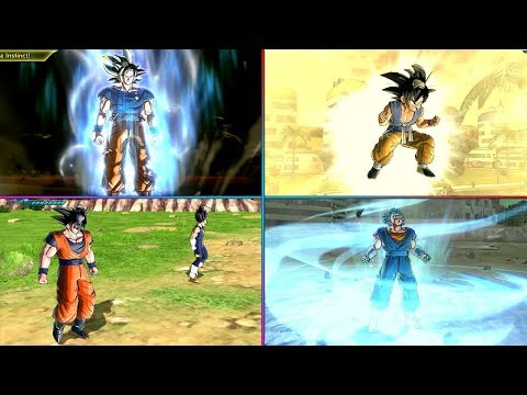 Best Custom Transformations & Fusions In Dragon Ball Xenoverse 2 Mods