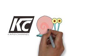 How to draw gary the snail videos / InfiniTube