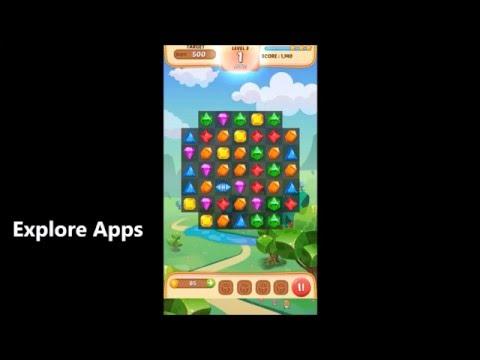 Jewel Match King Gameplay Full HD