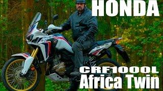 HONDA CRF1000L Africa Twin (Хонда Африка Твин) 2016, обзор, тест драйв #МОТОЗОНА №1