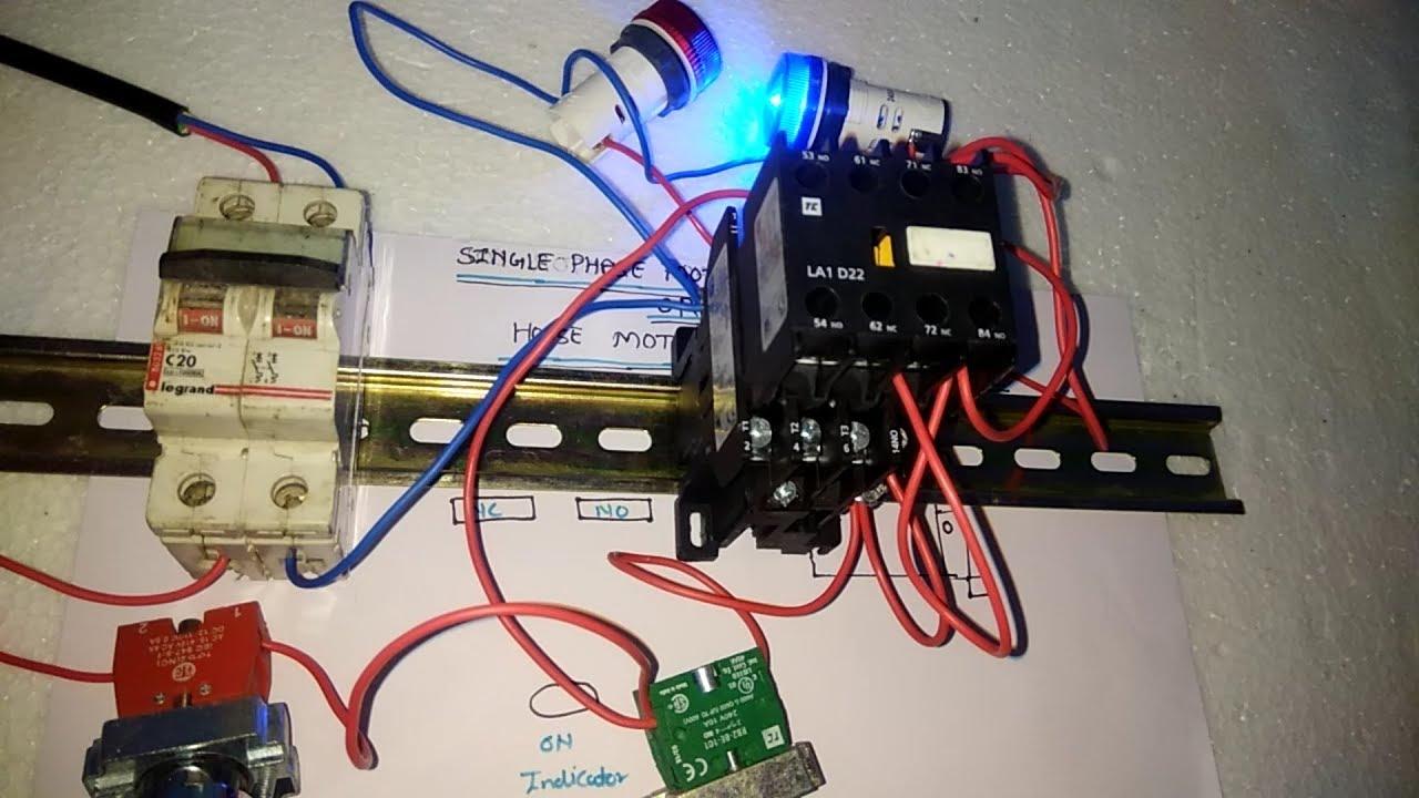 1 Phase Motor Starter Wiring Diagram from i.ytimg.com