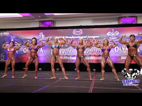Women's Bodybuilding First Call Outs | 2019 Puerto Rico Pro