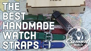 BEST Handmade Leather Straps for Watches!