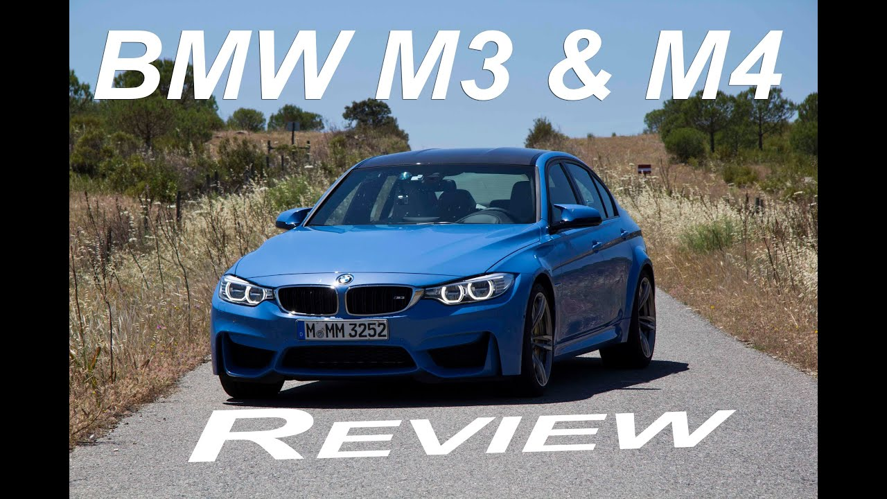 BMW M3 and M4 Review on track