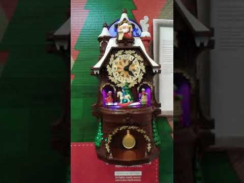 Hallmark Musical Christmas Clock