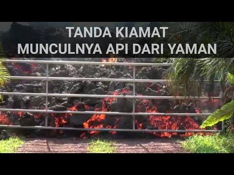 tanda kiamat kemunculan api dari yaman   di terangkan oleh ust zulkifli ali