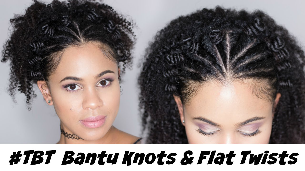 Hairstyle 90s: #TBT Natural Hair: 90's Bantu Knots & Flat Twist Style