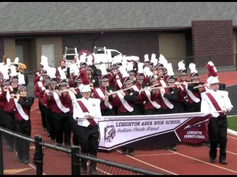 "Lehighton Area High School ""Indian Pride"" Band Disney Audition"
