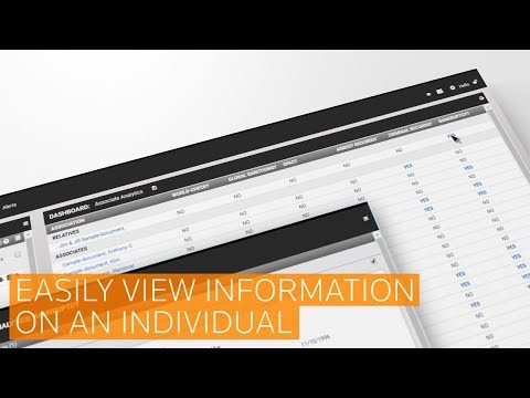 Associate Analytics from Thomson Reuters CLEAR®