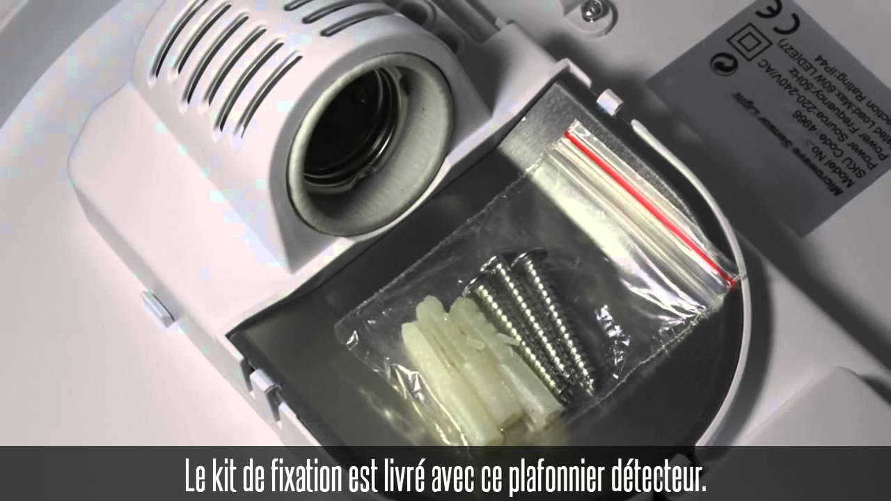 Et Détecteur Dôme Mouvement Blanc De Crépusculaire360°Compatible nmw80NvO