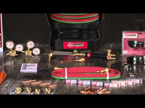 Firepower Tote Outfit for Portable Oxy-Acetylene Cutting & Welding