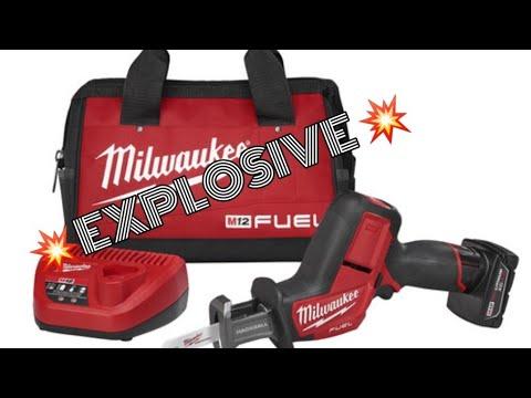 🔴 MILWAUKEE M12 FUEL Hackzall Kit W/Free 6.0Ah 🔴