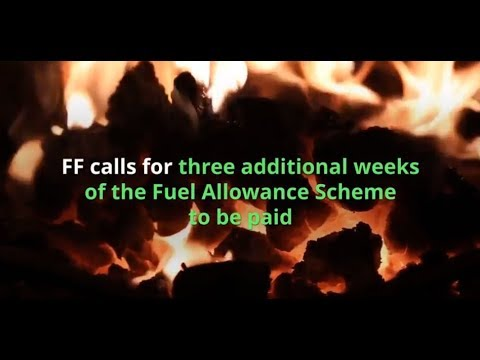 FF calls for three additional weeks of the Fuel Allowance Scheme to be paid – O'Dea
