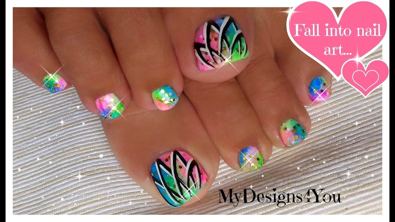 Cute Toe Nail Polish Designs For Summer – Papillon Day Spa