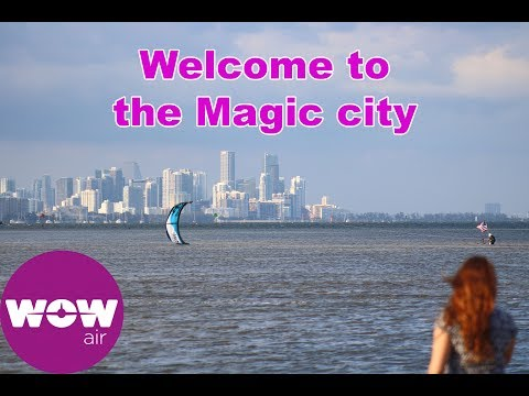 Wow Airlines Miami travel Guide Application