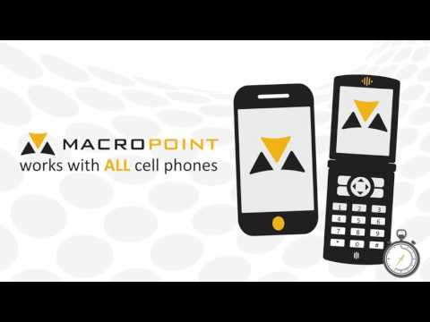 MACROPOINT is the latest and greatest technology used by best-in-class logistics companies.