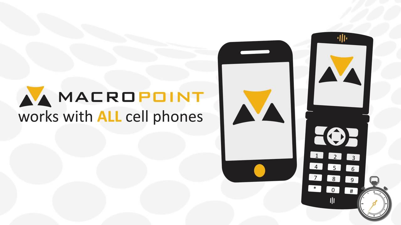 MACROPOINT is the latest and greatest technology used by best-in-class  logistics companies