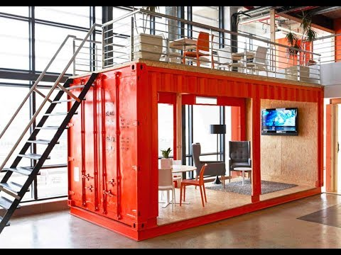 Shipping Container Conversion To Office