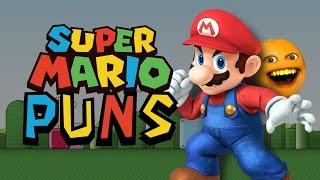 Super Mario Bros Puns!   Annoying Orange
