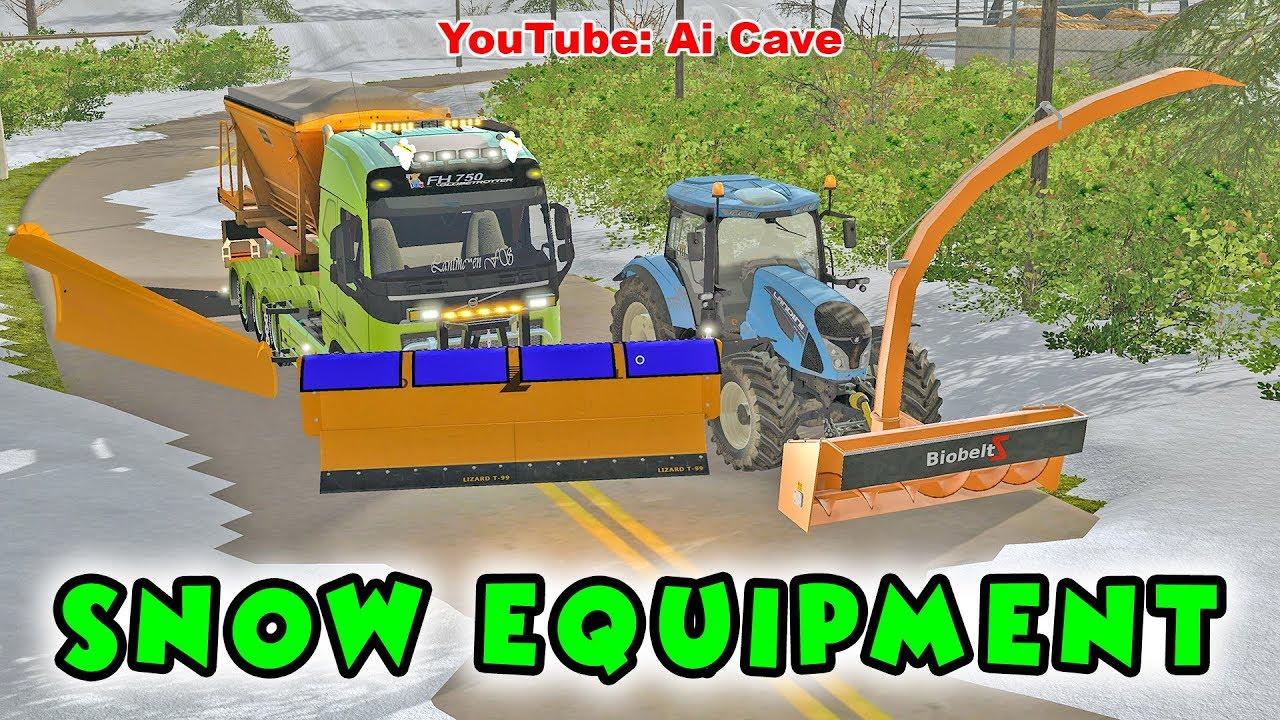 Farming Simulator 17 Snow Plow