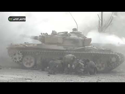 Syrian soldier sends a video message to Ghouta militants