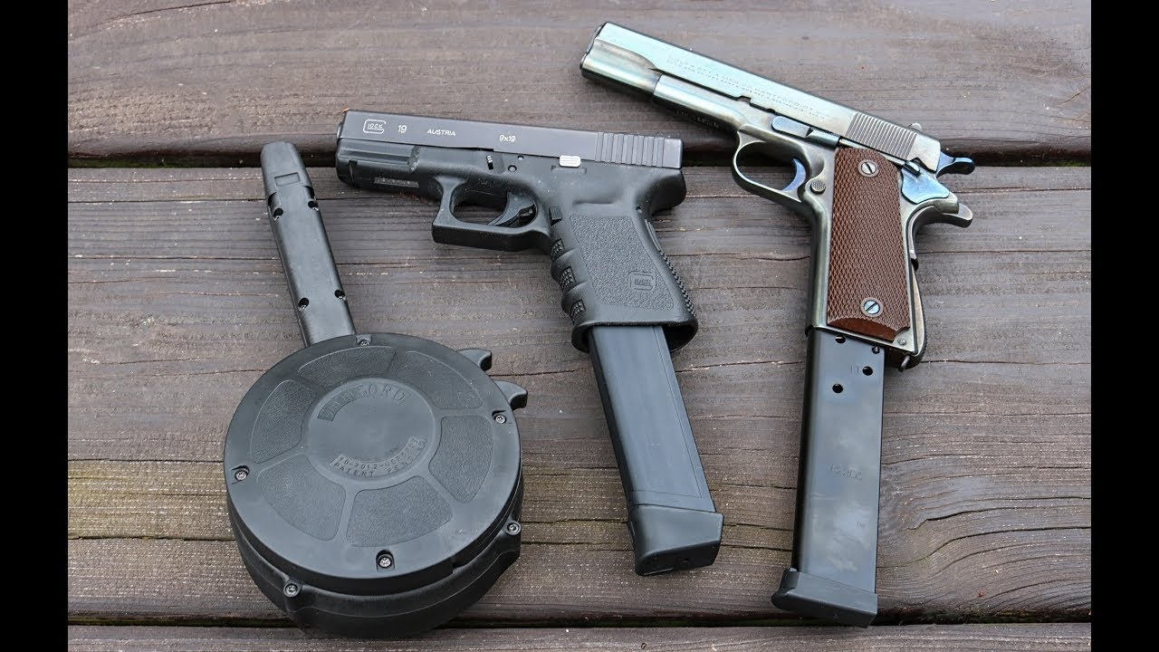 Rock Island /& Colt style 1911A1 Pistols, 1911 Magazine .45ACP 7 rd for Kimber