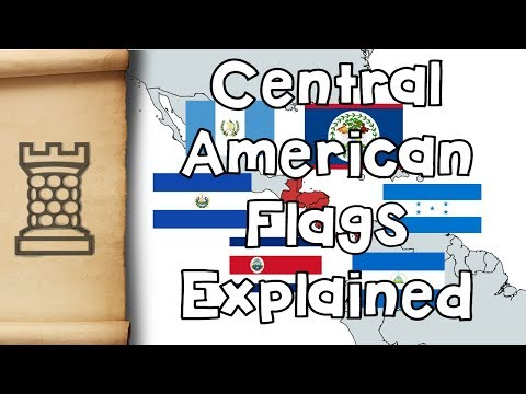 Central American Flags - Explained!