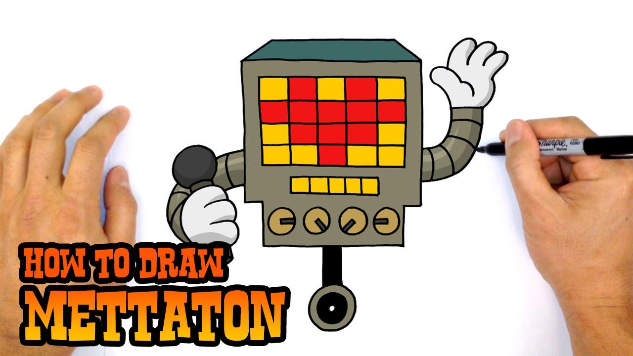 How to Draw Mettaton | Undertale - YouTube