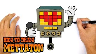 How to Draw Mettaton | Undertale