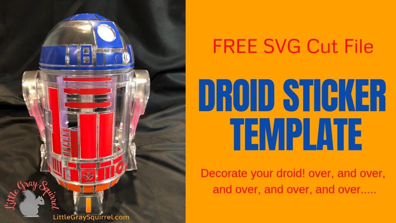 littleBits Star Wars Droid Inventor Kit SVG Silhouette Sticker Decal