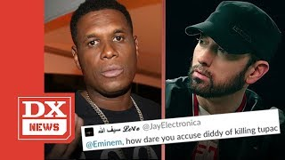 Jay Electronica Deletes All His Social Media After Bashing Eminem In A Tweet