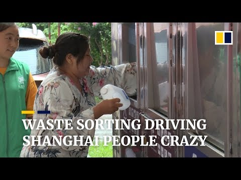 Confusion over China's new waste management driving Shanghai people crazy