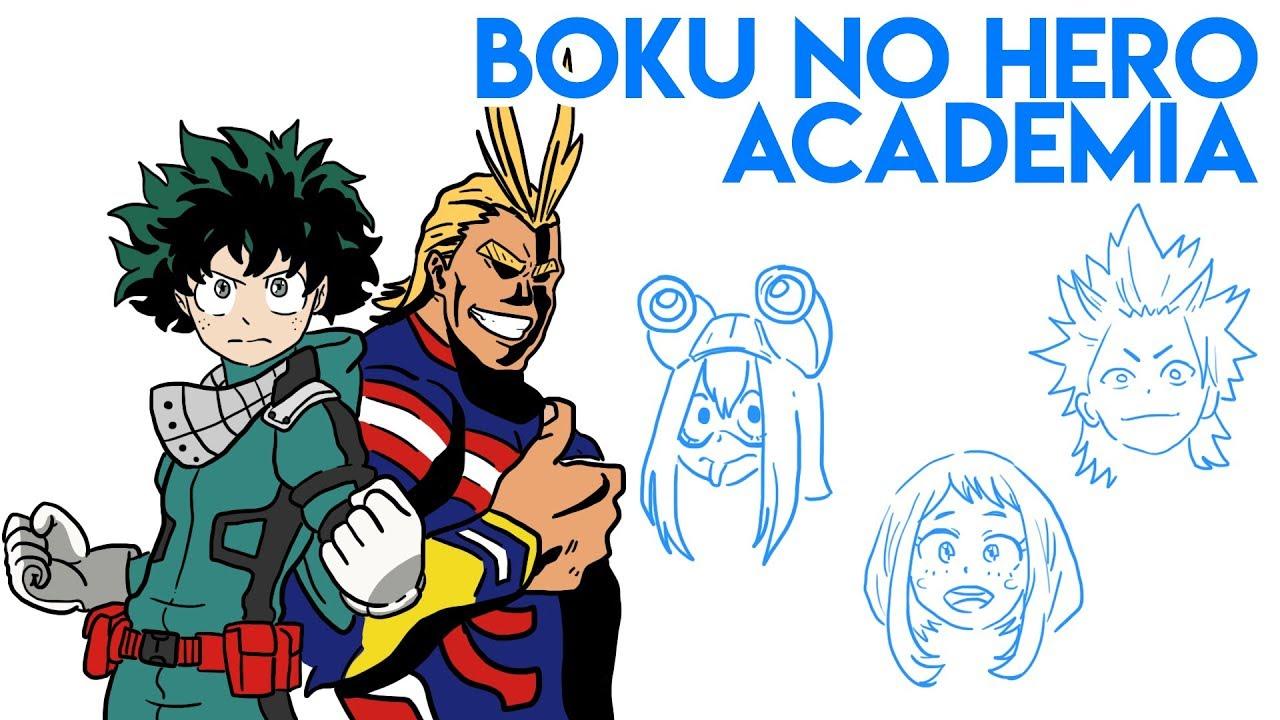 BOKU No HERO Academia | Draw My Life