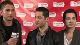 Boyce Avenue Backstage Interview - Streamy Awards 2013