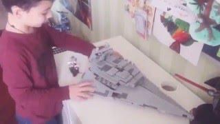 Видео обзор Лего Star wars звёздный разрушитель