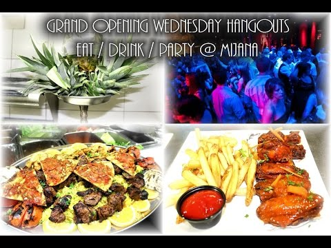 Grand Opening Wednesday Hangouts Eat Drink And Party