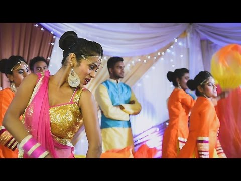 Manwa Laage dance performance by Krumania Dance Mauritius