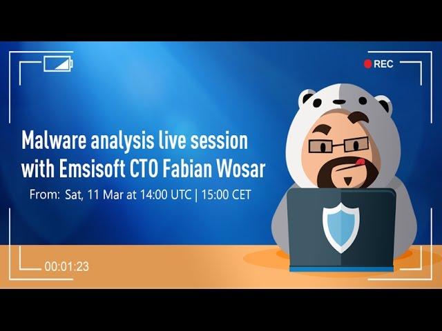 Malware Analysis Session with Emsisoft CTO Fabian Wosar: 'Damage' Ransomware
