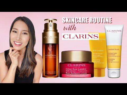 Best of Clarins Skincare | Serum, Scrub, Mask & More | ChrisHanXoxo