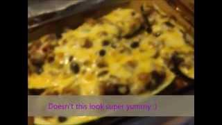 Zucchini Boat Enchiladas