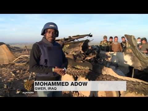 Peshmerga's dangerous task of defending Erbil