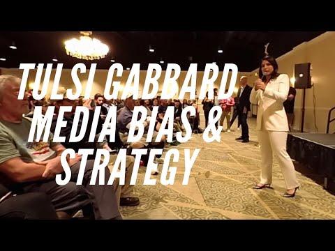 Tulsi Gabbard On Media Bias And Strategy