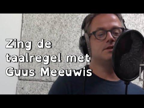 Meezingen met Guus Meeuwis - De tegenwoordige tijd